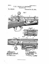 Magazine Rifle Design - Copy of Patent dated 1893
