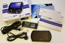 Sony PSP Go, 16GB Piano Black In Box, Works Perfectly!