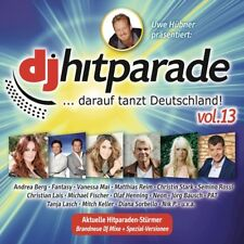 DJ HITPARADE,VOL.13 - VANESSA MAI/SEMINO ROSSI/MATTHIAS REIM/+  CD NEW!