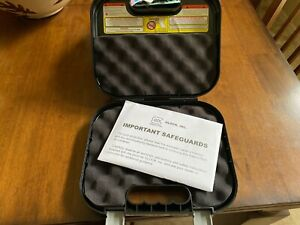 Glock Factory Clam Shell Hard Pistol Case W/ Manual**FREE SHIP&TRACK**