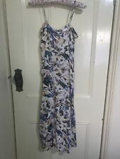 Bardot floral midi dress with pockets size 6