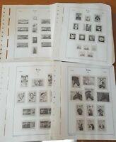 Leuchtturm Polen Vordruck SF-Vordruckblätter 1976-1989
