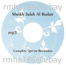 Sheikh Salah Al Budair Full Quran Recitation mp3 CD (no translation) Islam