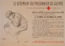 Clothes for the prisoner of war. Vintage French WW1 Propaganda Poster