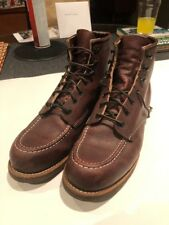 Red Wing Brooks Brothers OX sangue Moc-Toe Stivali UK 8