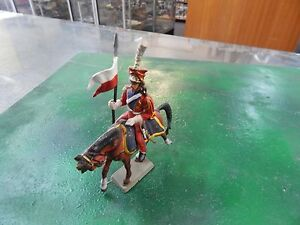 plastic French Lancer Napoleonic Cavalry by Starlux made in France