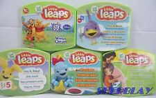 Leap Frog Baby Little Leaps Lot of 5 DVD Disc Game Learning System Interactive