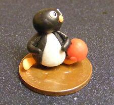 1:12 Arcilla Polimérica Pingüino + Bola De Casa De Muñecas En Miniatura Accesorio de jardín lb9