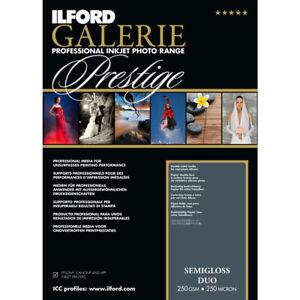 Ilford GALERIE Prestige Semigloss Duo DIN A4, 25 Blatt, GPSGD, 250 g/qm
