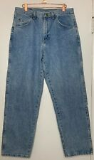 WRANGLER HERO Relaxed Fit Jeans Men's Size 33 x 30 Tapered Leg 100% Cotton NWOT
