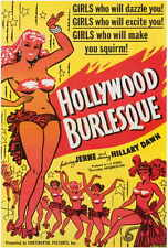 HOLLYWOOD BURLESQUE Movie POSTER 27x40 Joy Damon Honey Hayes Bobby Roberts Marie