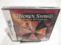 Broken Sword Shadow of the Templars Nintendo DS Brand New Factory Sealed 3DS 2DS