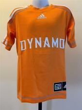 New Houston Dynamo Youth Size S Small Orange Adidas Jersey