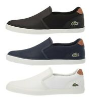 Lacoste Jouer 119 Men's Casual Slip on Croc Logo Leather Loafer Shoes Sneakers