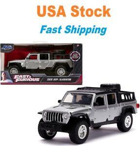 Fast And Furious Luke Hobbs 2020 Jeep Gladiator, Jada, Diecast Car, 5.5'', 1:32