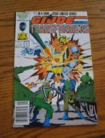 000 VTG G.I. Joe and the Transformers Comic Book #1 Jan 1987 Marvel Nice Cond