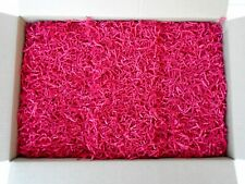 SPRING FILL Crinkle Cut Kraft Gift Basket Fill Grass Paper Shred 10 Pounds RED