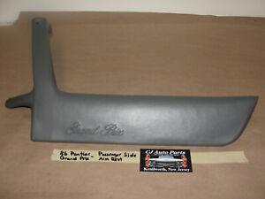 OEM 86 Pontiac Grand Prix RIGHT PASSENGER SIDE DOOR PANEL ARM REST #20433670