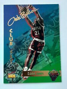 Eddie Jones 1995 Signature Rookies Tetrad NBA basketball card