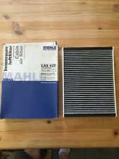 Genuine Mahle LAK 437 Replacement Cabin Air Filter With Activated Carbon (NEW)
