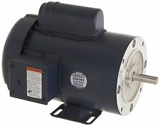 Leeson Electric Motor 110909.00 1.5 HP 3450 Rpm 1PH 115/208-230 Volt 56C Frame