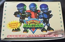 More details for butt ugly martians full box of sticker packs 100 packets rare space