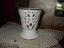 Lenox Ivory China Illuminations Candle Holder Versailles Pattern New With Tag