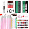 94Pcs/Set Nail Art Tools Electric File Drill Bits Machine Manicure Pedicure Kit