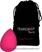 En forma de lágrima Belleza Maquillaje Licuadora ® Fundación Esponja Rosa Facial Cuña / Puff + Bolsa