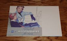 1953 Chevrolet Car Useful Accessories Foldout Sales Brochure 53 Chevy