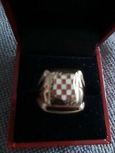 Kroatien Siegelring 585 Gold 14 Karat  5,13 g