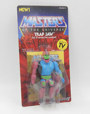 MotU Masters SUPER 7 WAVE 3 - TRAP JAW Action Figure unpunched MOC Neu/OVP