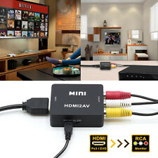 [Ultra-HD]HDMI to RCA Adapter fr Laptop Amazon Fire TV Stick Apple TV