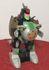 "2015 Imaginext Power Rangers Mighty Morphin Dragonzord 16"" Lights & Sound Work!"