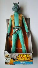 "Star Wars GREEDO w//laser gun 18/"" figure  JAKKS PACIFIC 2014 dated"