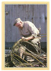 Traditional Crafts: Lobster Pot Maker No.2 Of 10 Rare J. Arthur Dixon Postcard
