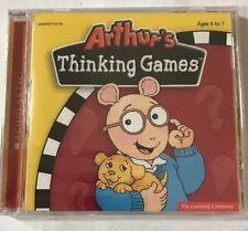 Arthur's Thinking Games Adventure Workshop (1st-3rd Grade) Windows CD-ROM (2006)