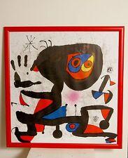 Joan Miro - wunderschöne Lithographie aus DLM, wandfertig.