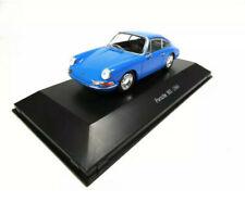 1/43 Norev Atlas Voiture Miniature Porsche 901 Bleu 1964 Collection Neuf