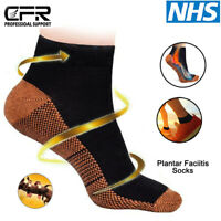 Soothers Socks Anti Fatigue Compression Foot Sleeve Support Brace Sock Sports HG