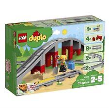 Lego Duplo Railroad Bridge and Tracks (10872) - New, Sealed