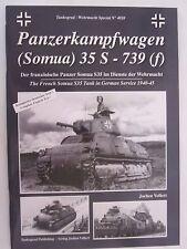 Book: Tankograd Wehrmacht Special No. 4020 Panzerkampfwagen (Souma) 35 S - 739 f