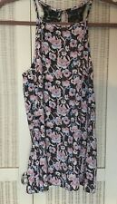 Miss Selfridge Pink Floral Strappy Top Beautiful Lace Detail BNWT £35 RRP size 6