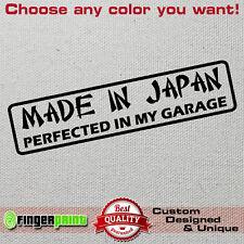 MADE IN JAPAN JDM wakaba sticker vinyl decal rising sun jap toyota honda nissan