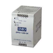 IMO Power Supply 115/230V AC Input 24V DC Output 300 Watts 12.5A Din Rail Mount