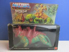 BOXED vintage HE MAN BATTLE CAT ACTION FIGURE MOTU master of the universe 71k