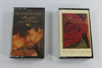 Victoria's Secret Two Centuries of Romance & Romantic Rhapsodies Cassette Tapes