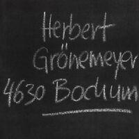 "HERBERT GRÖNEMEYER ""BOCHUM"" CD NEUWARE"