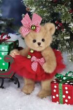 "10"" JENNY JINGLES*New*NWT*Bearington Teddy Stuffed Bear*CHRISTMAS*Bell*173241"