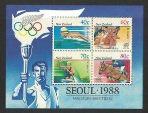 1988 New Zealand Olympics SG MS 1479 MUH